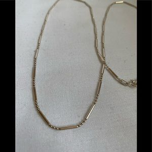 Sterling 925 Tiny Beads Necklace Chain 24 Inches
